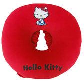 【享夢城堡】HELLO KITTY 兜風紅系列-圓形頭枕