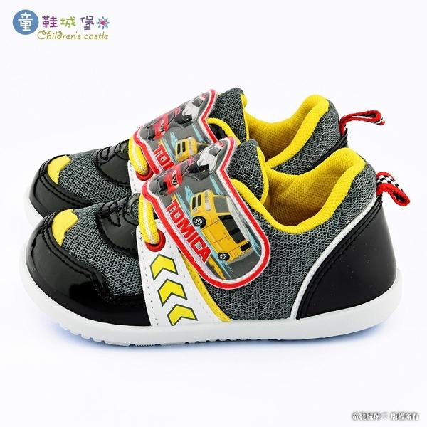 童鞋城堡- 小汽車透氣運動鞋 Tomica多美汽車 TM6933 藍/黑 (共二色)