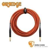 【缺貨】Orange STIN-OR-30 30呎雙直頭吉他/貝斯專用高傳真導線【電吉他/電貝斯/電民謠吉他皆可用】