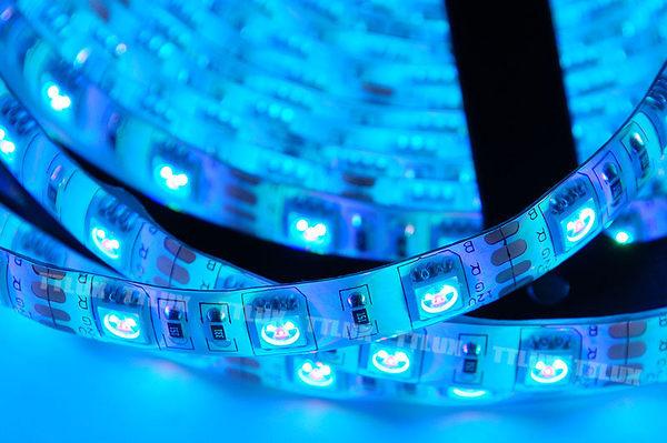 5米七彩LED燈條300晶(全配) 300顆 防水效果好