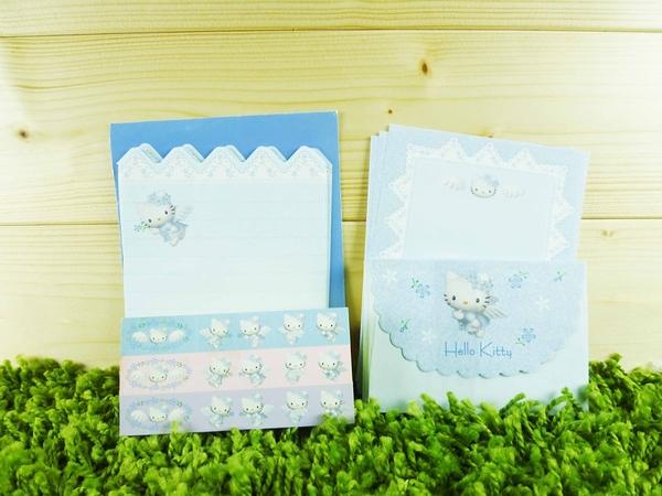 【震撼精品百貨】Hello Kitty 凱蒂貓~信籤組~藍天使圖案【共1款】