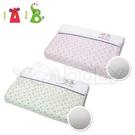 1A2B 3D透氣嬰兒枕 -粉葉/綠葉