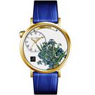 梵谷Van Gogh Swiss Watch梵谷演繹名畫男錶 S-GMI-11 鳶尾花