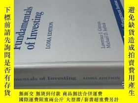 二手書博民逛書店Fundamentals罕見of Investing LOMA