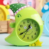鬧鐘創意學生可愛兒童卡通床頭簡約小學生中學生大學生用書桌鐘【交換禮物】