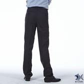 【NST Jeans】時尚優雅黑 男 羊毛無打摺西裝褲 (中腰) 391(6955) /微彈/抗皺/黑色西褲/原價4380
