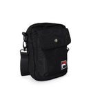 FILA 斜背包 Crossbody Shoulder Bag 黑 白 男女款 外出 側背包 肩背 隨身小包 【ACS】 BMV3014BK