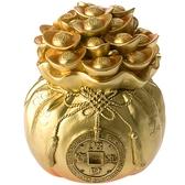 福氣錢袋擺飾燈 金色款 招財進寶 滿袋元寶