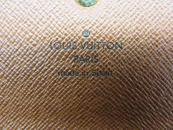 LV LOUIS VUITTON 路易威登 原花扣式長夾 發財包 Sarah M61734【BRAND OFF】