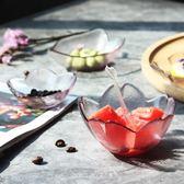 粉色櫻花碟子玻璃小菜碟