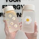 玻璃杯 水杯女玻璃杯磨砂簡約清新可愛便攜創意個性潮流森系ins少女杯子 晶彩 99免運