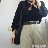 腰帶女士簡約百搭韓國學生時尚韓版bf風休閒褲腰帶女裝飾潮流個性 快意購物網
