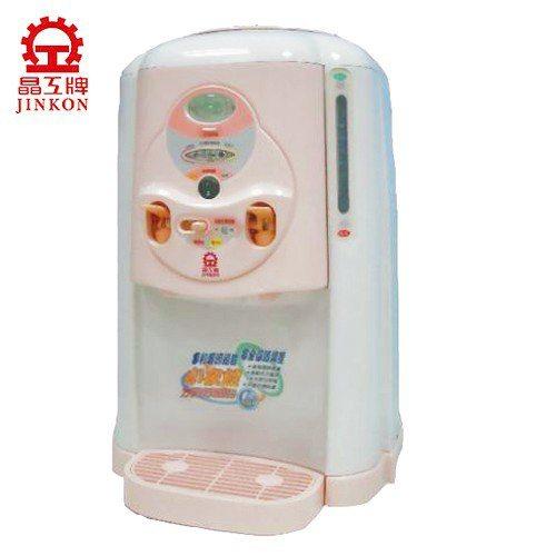 A0833   《晶工牌》8公升溫熱全自動開飲機(粉紅) JD-1502