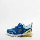 FILA  兒童 氣墊慢跑鞋-藍 2-J422T-394