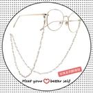 眼鏡錬純銀眼鏡鏈珍珠掛脖掛鏈復古個性流行裝飾防掉眼睛鏈條防滑鏈潮 快速出貨