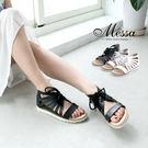 【Messa米莎專櫃女鞋】MIT 羅馬假...