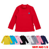 WHY AND 1/2 mini 彈性棉質T恤 0M-4Y 多色可選