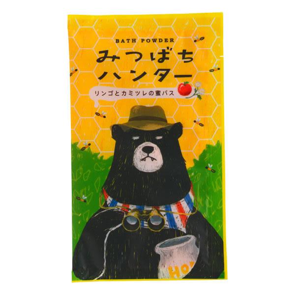 《日本製》CHARLEY 蜜蜂獵人入浴劑-蘋果洋甘菊香 40g  ◇iKIREI