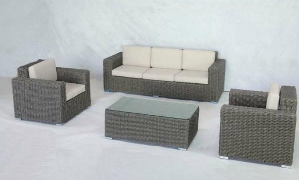【南洋風休閒傢俱】戶外休閒沙發系列-穩重大方沙發組 戶外藤編沙發  藤椅 (HT-355)