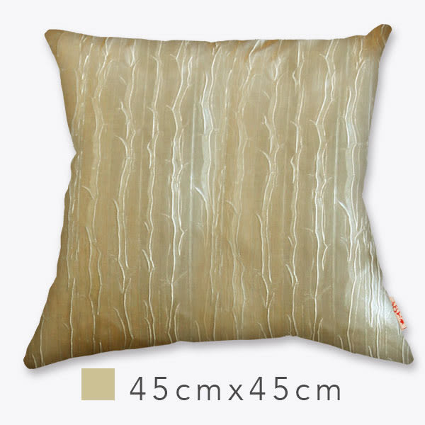 Naka自然風抱枕(含枕心)-紋金 45cm×45cm 自然風/ 設計款/ 小尺寸/ 靠墊/ 腰枕/ 午安枕【MSBT 幔室布緹】