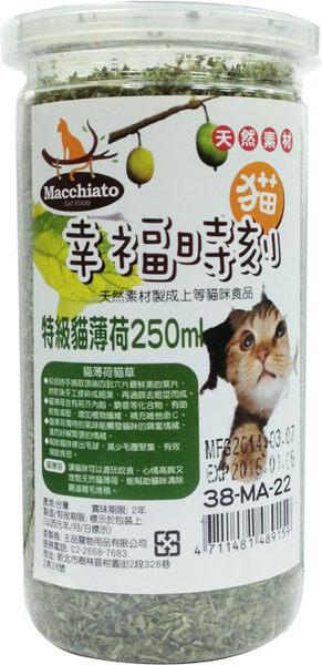 *~寵物FUN城市~*《貓幸福時刻》特級貓薄荷250ml (38-MA-22/貓零食,點心)