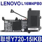 聯想 LENOVO L16M4PB0 4芯 . 電池 L16S4TB0 Y720-15 Y720-15IKB