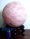 天然粉晶球5.6公斤-約16公分-附精緻球座*免運費