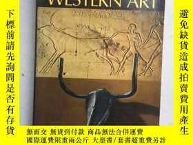 二手書博民逛書店A罕見History of Western Art(英文原版,內