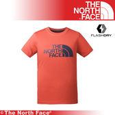 【The North Face 美國 男 排汗LOGO短T/L《紅白》】3CJM/吸濕排汗/透氣/短T/上衣/排汗衣/基本款★滿額送
