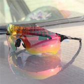 全館免運 超輕無邊框騎行眼鏡偏光太陽鏡戶外運動