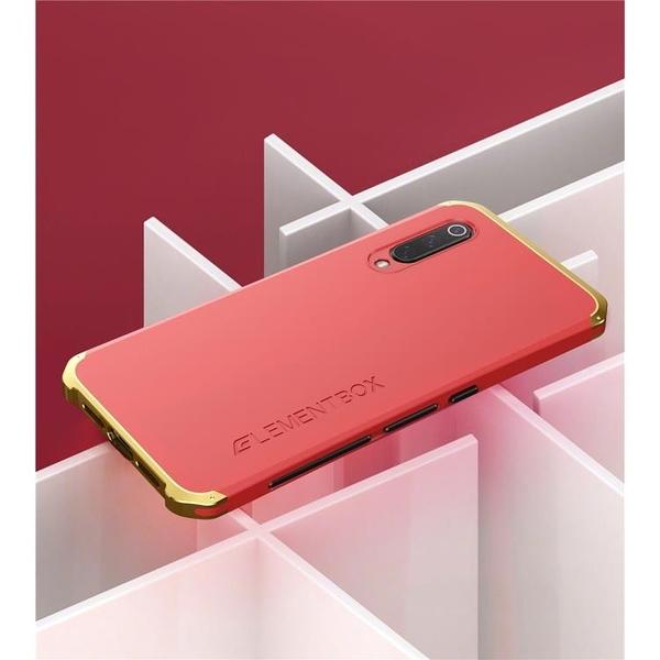 小米 9 9 Pro 金屬手機殼 SOLACE TPU 金屬邊框 個性創意保護套