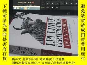 二手書博民逛書店LPI罕見Linux Certification in a Nu