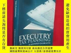 二手書博民逛書店Executry罕見Tax Planning (16開) 【詳見