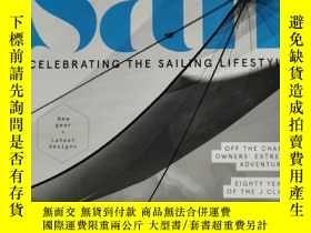 二手書博民逛書店Life罕見under sail 帆船雜誌 2019年4月 英文版Y42402