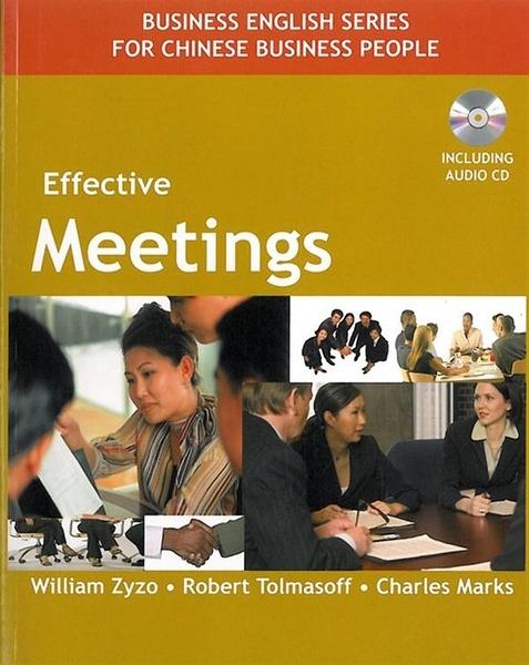 (二手書)Effective Meetings (with CD)