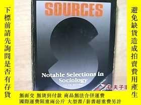 二手書博民逛書店Sources:罕見Notable Selections in