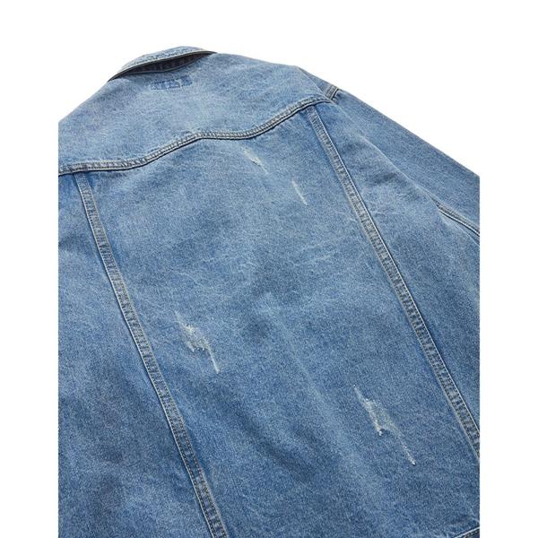 CACO-破壞牛仔外套-男【UNC026】