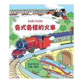 Look inside各式各樣的火車