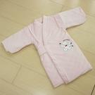 GMP BABY 寶貝保暖抖熊毛巾布鋪棉和服~1件粉色