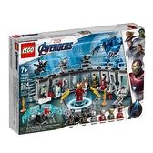 76125【LEGO 樂高積木】漫威英雄系列 - Iron Man Hall of Armor