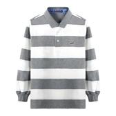 『小鱷魚童裝』條紋POLO衫(10號~18號)534101