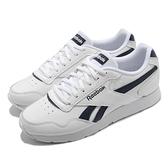 【海外限定】Reebok 休閒鞋 Royal Glide 白 深藍 小白鞋 皮革 女鞋 運動鞋 百搭款【ACS】 FW0629