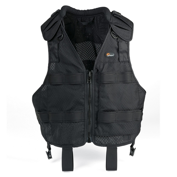 Lowepro S&F Technical Vest 模組人體工學背心 (S/M 胸圍105-125 公分)  (L/XL 胸圍125-150 公分)【 公司貨】