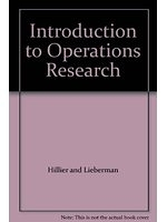二手書博民逛書店 《Introduction to operations research》 R2Y ISBN:0816238715│HillierandLieberman