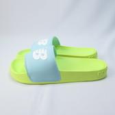 New Balance 海綿拖鞋 公司貨 SWF200LS 女款 整數尺碼 螢光黃x綠【iSport愛運動】