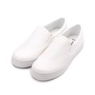 T-EGO 素面套式懶人鞋 白 女鞋 鞋...