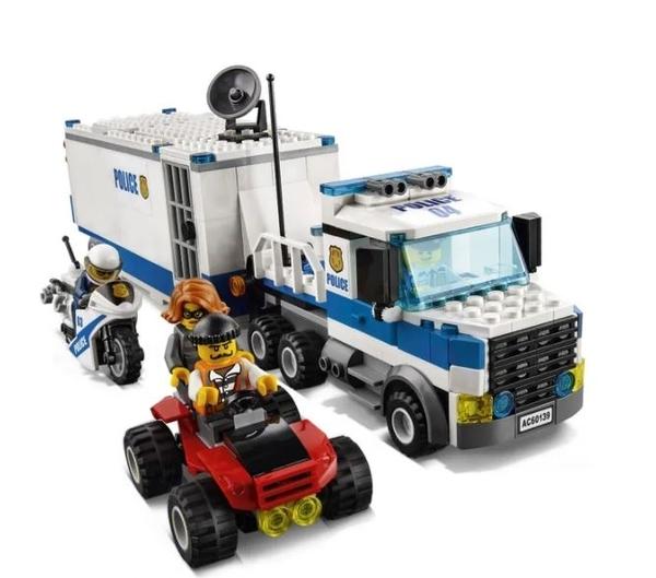 LEGO 樂高 CITY 城市系列 Mobile Command Center 行動指揮中心 60139
