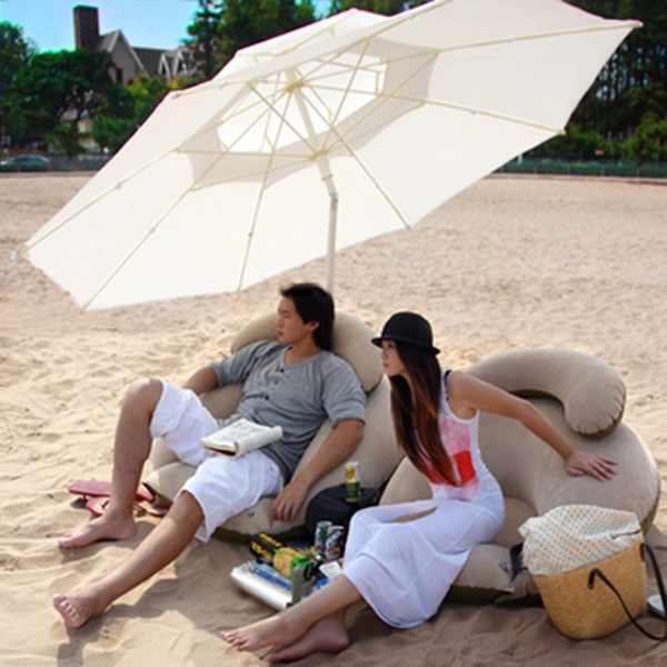 大號戶外遮陽傘雙頂傘可轉向太陽傘沙灘傘擺攤傘廣告傘雨傘 MKS免運