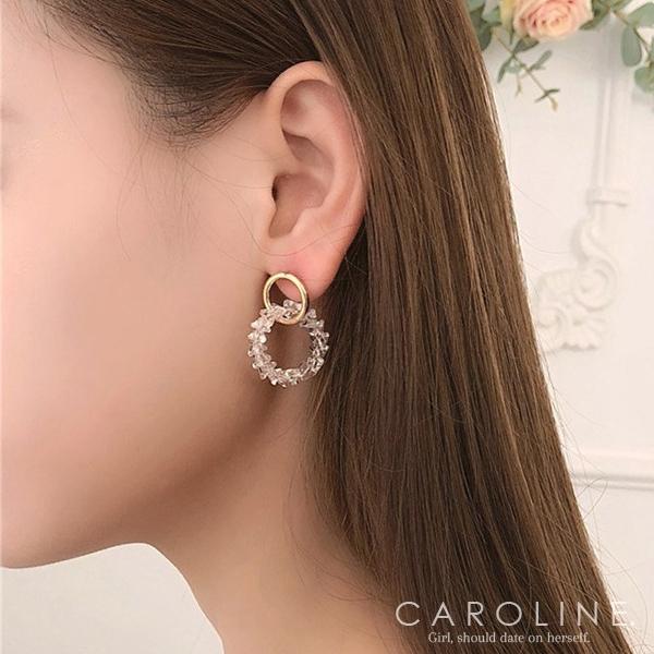 《Caroline》★韓國熱賣造型時尚  浪漫風格耳環70600
