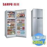 聲寶 SAMPO 580L 定頻雙門電冰箱 SR-A58G